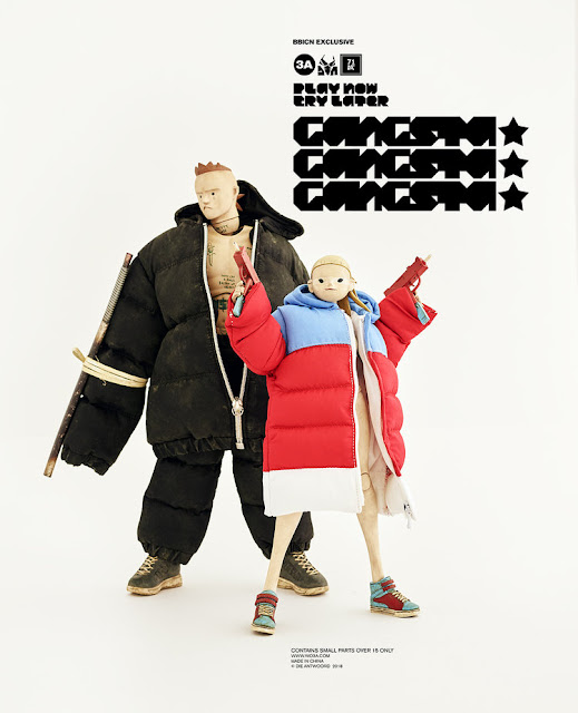 World of 3A BBICN Exclusive Die Antwoord GANGSTA GANGSTA GANGSTA