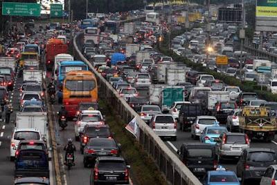 Kemacetan Jakarta Kian Parah