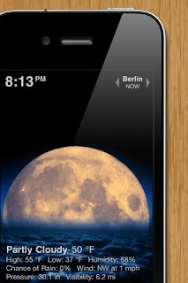 Apple iPhone Weather Apps: Weather HD
