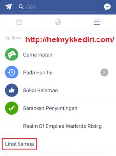 Menemukan lokasi wifi dengan aplikasi facebook