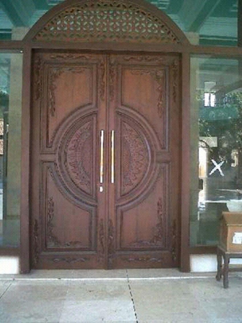 pintu kupu tarung ukiran jepara 1