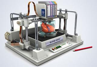 الطباعة ثلاثية الأبعاد للأعضاء البشرية