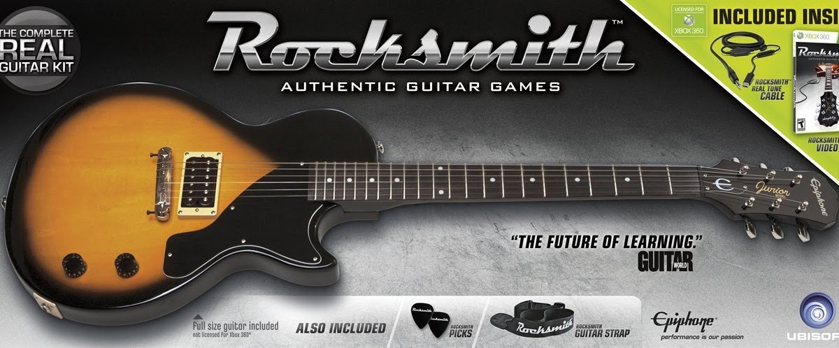Rocksmith Guitar Game - Setup & Support