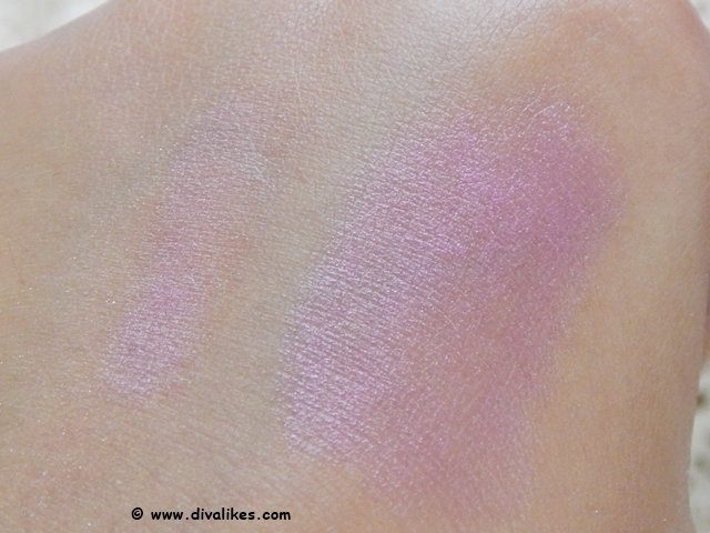 L.A.Colors All-In-One Makeup Stick Pink Satin Swatch