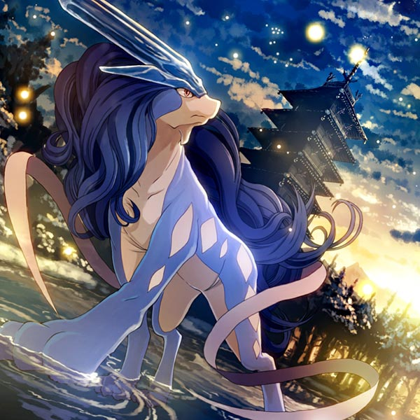 Suicune's Surrondings (Pokemon) Wallpaper Engine