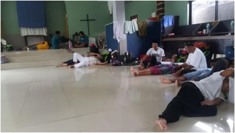 WNI Calon Haji yang gagal ditampung di gereja