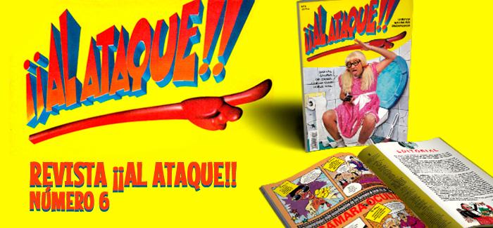 Revista ¡¡Al Ataque!! Nº 6