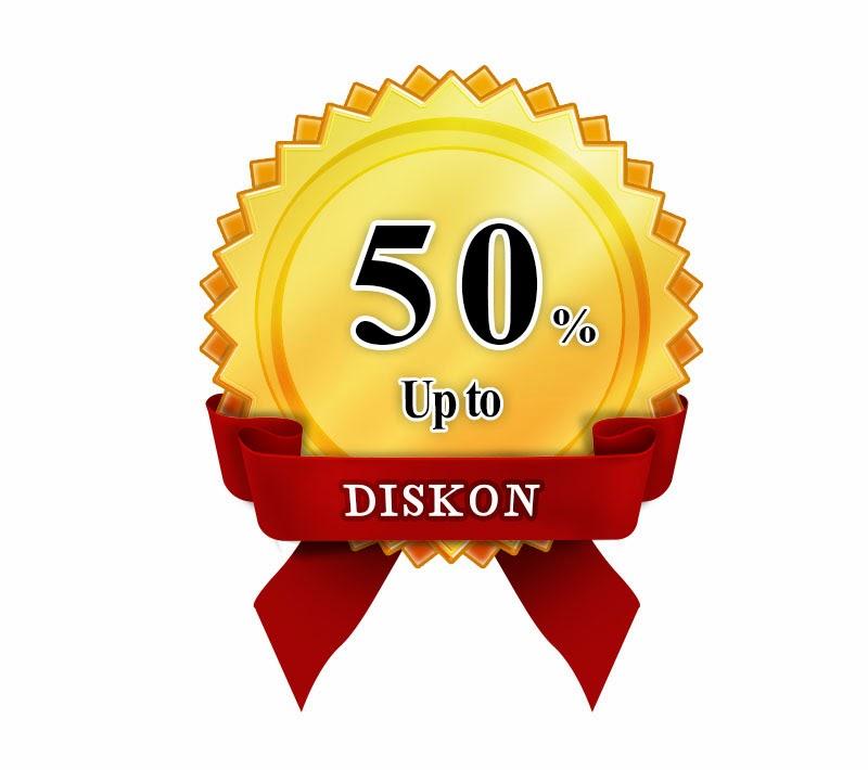 Diskon 50% png