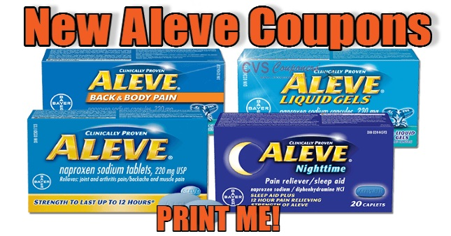 aleve coupon 2019