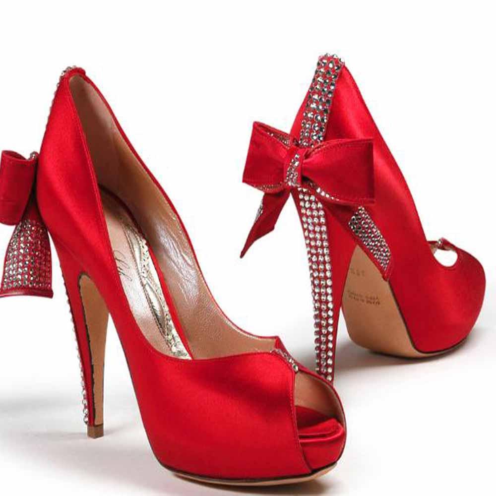 Wedding Shoes High Heels: Goalpostlk.: Bridal Heels New Design