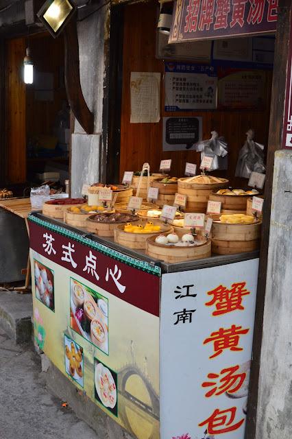 Stand de nourriture à Suzhou