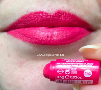 Golden Rose Velvet Matte 04 Swatch