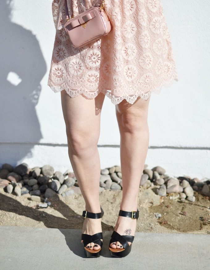 Michael Kors flatform sandals