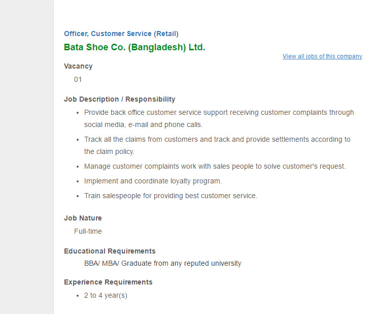 jobs related to customer service