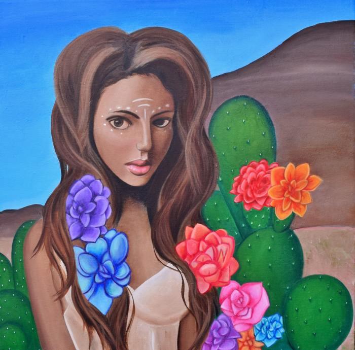 Американский художник-самоучка. Samantha Y Anderson