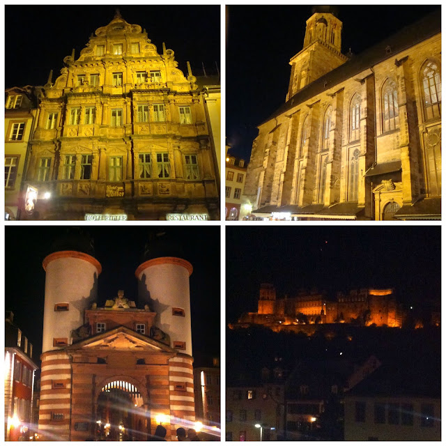 Heidelberg a noite