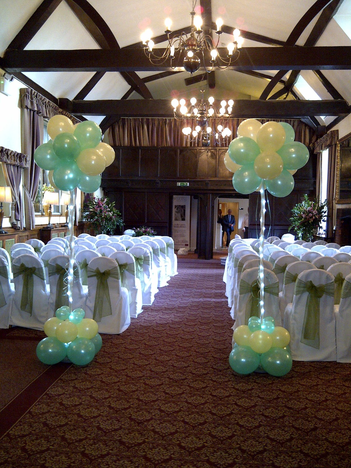 Welcome To Party Buds Balloon World Professional Balloon Decorators Wedding Mint Green