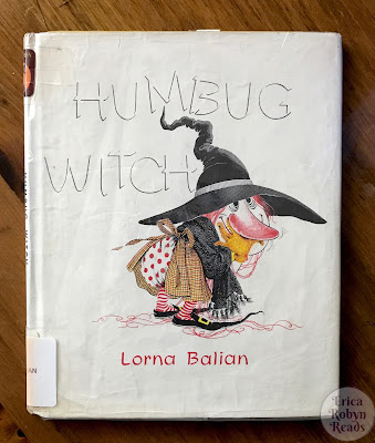 Humbug Witch by Lorna Balian book cover