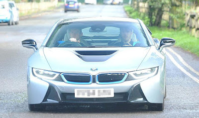 BMW i8 Rooney