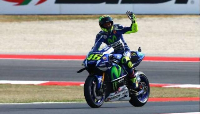 Valentino Rossi di MotoGP