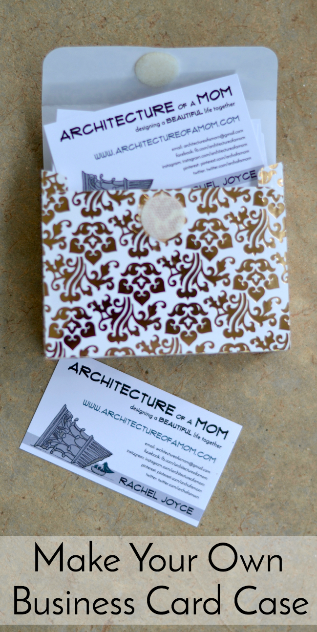Architecture of a mom little business card box are you ready to learn how to make it colourmoves