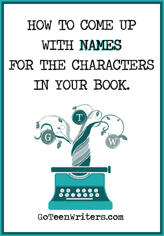 How to Come Up with Names for the Characters in Your Book
