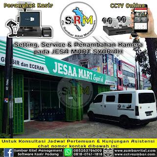 Instalasi & Upgrade CCTV Online  Pada JESAA MART SYARIAH