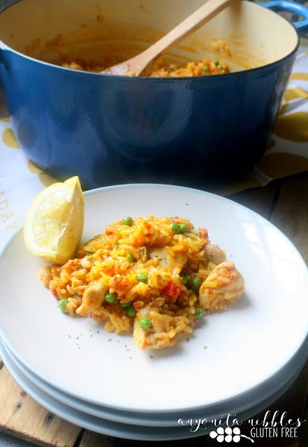 Easy Gluten Free Spanish Paella Recipe