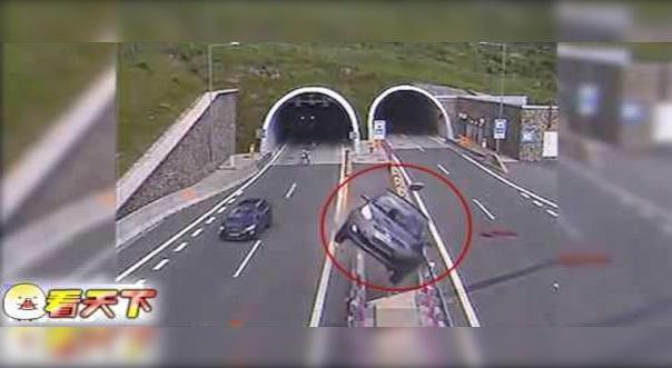 Dia Bawa Kereta Masuk Terowong Lepas tu Pecut Kereta, Tak Sangka Lepas Keluar Terowong.. Kereta Hilang Kawalan Terbang Ke Udara!!