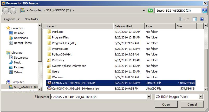 Cài đặt, cấu hình cơ bản CentOS 7 Minimal