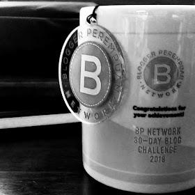 Marchandise Blogger Perempuan 30 Days Challenge