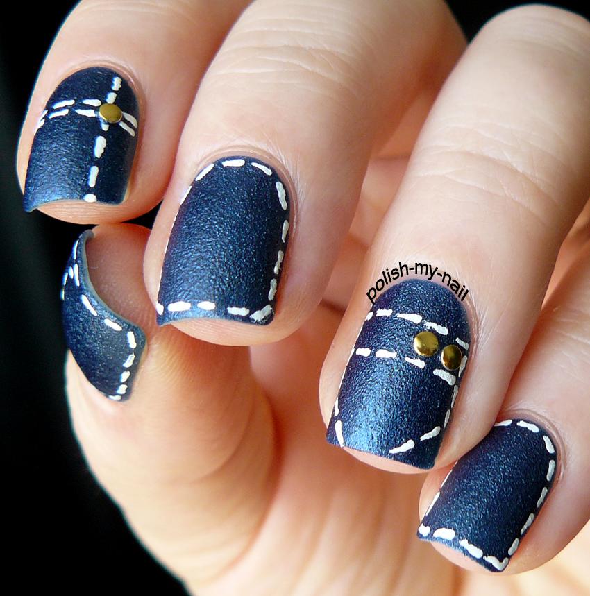 Polish My Nail: Jeans Nails