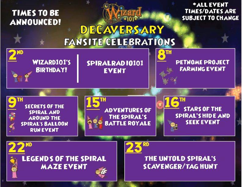 Wizard101 Decaversary Balloon Run ~ Secrets of the Spiral