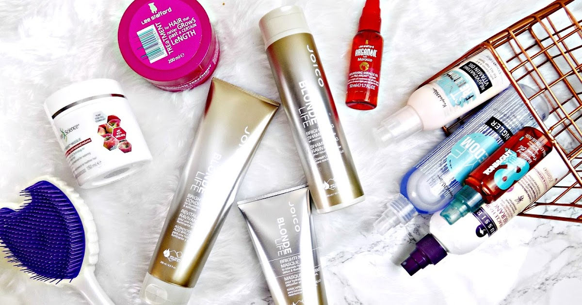 The Best Products For Dry Damaged Coloured Or Bleached