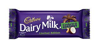 Cadbury Dairy Milk Cashew Coconut