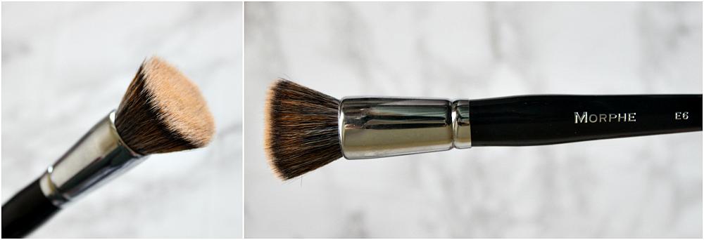 morphe E6 flat top buffer brush