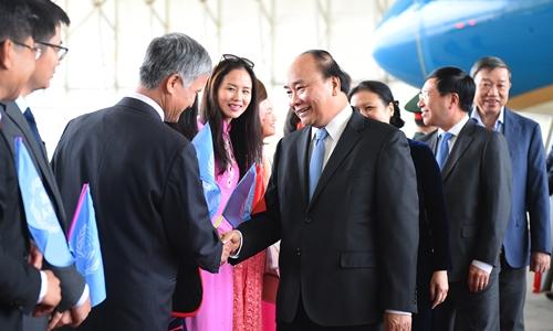 thủ tướng nguyên xuân phúc thăm mỹ