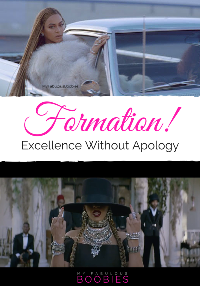 Formation Beyonce Excellence No Aplogies | My Fabulous Boobies