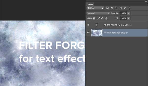 background layer generated using filter forge