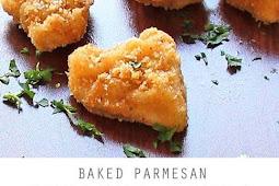 Baked Parmesan Chicken Bites with Garlic Aioli