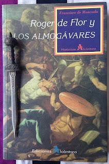 Portada del libro Roger de Flor y los almogávares, de Francisco de Moncada
