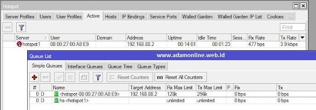 Mengaktifkan MAC Login Hotspot