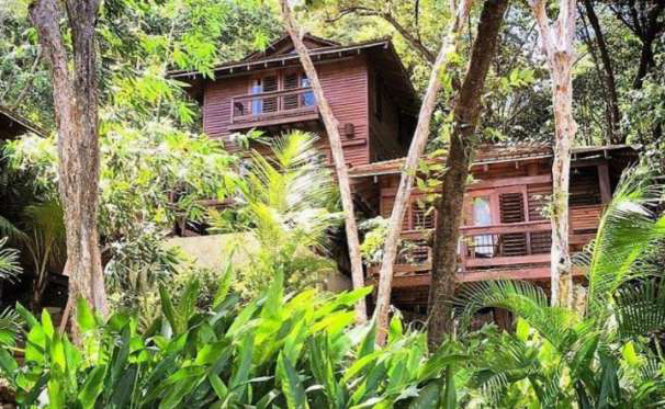 VILLAS WITH PRIVATE POOLS AND THE SOUND OF HOWLER MONKEYS.