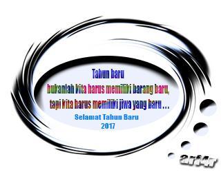 Kata Mutiara tahun baru 2017