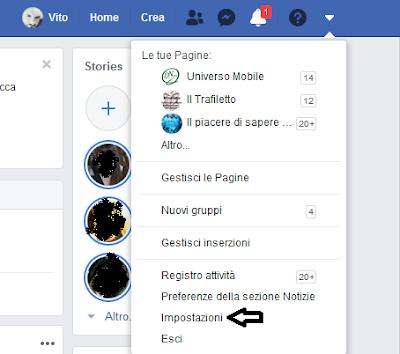Come disconnettersi da Facebook su altri dispositivi: TUTORIAL