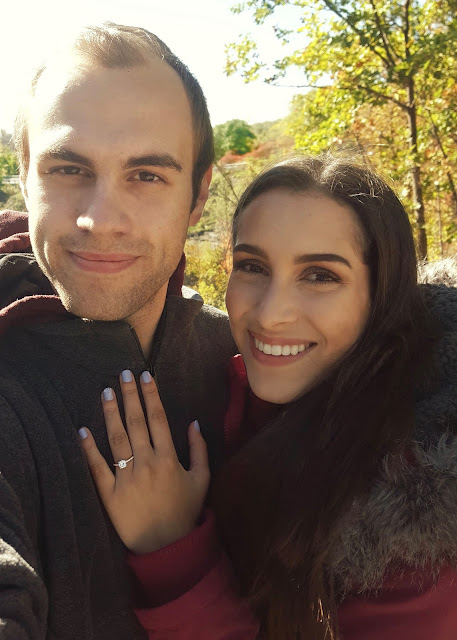 Our Canadian James Allen Engagement Ring Experience