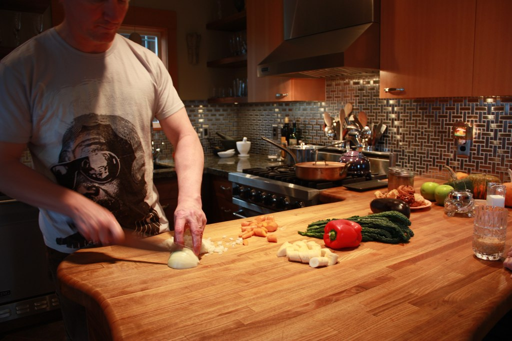 Gorgeous Bits: Chef Brian Wilke's Home Kitchen