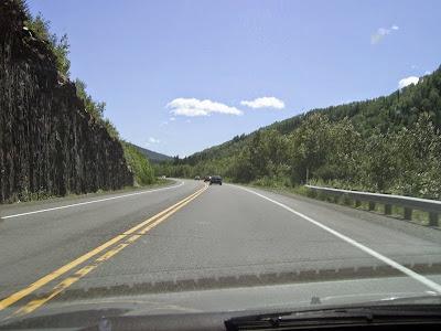 Appalachian roads, Appalachian drives, Appalachian forests, Appalachian mountains, Appalachian highlands, Appalachians, Canada Appalachians, Quebec Appalachians, Quebec Route 132, Amqui, Causapscal, Quebec, Quebec tourism, Canada, Canada tourism, Visiting Canada, Visiting Quebec