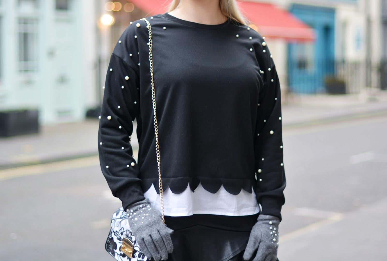 ubrania perły