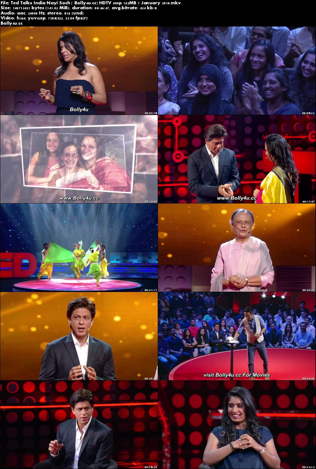 Ted Talks India Nayi Soch HDTV 480p 140MB 07 January 2018 Download